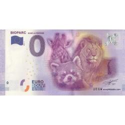 Euro banknote memory - 49 - Bioparc - 2016
