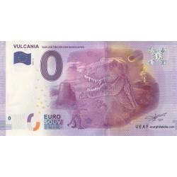 Euro banknote memory - 63 - Sur les traces des dinausaures - 2016