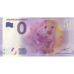 Euro banknote memory - 64 - Aquarium Biarritz - 2016