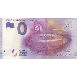 Euro banknote memory - 69 - Parc olympique lyonnais - 2016