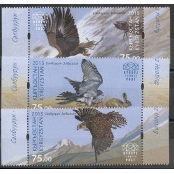 Kirghizistan (Express post) - 2015- No 10/12 - Rapaces