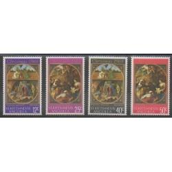 Saint-Christophe - 1968 - Nb 205/208 - Christmas