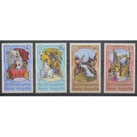 Saint-Christophe - 1975 - No 312/315 - Pâques