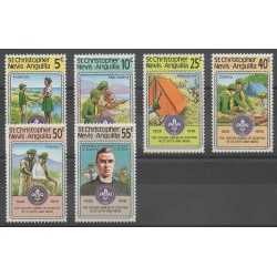 Saint-Christophe - 1978 - No 394/399 - Scoutisme