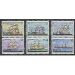 Saint-Christophe - 1980 - Nb 437/442 - Boats