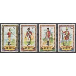 Saint-Christophe - 1981 - Nb 468/471 - Military history