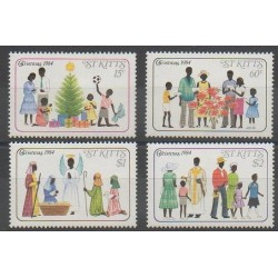 Saint-Christophe - 1984 - Nb 580/583 - Christmas