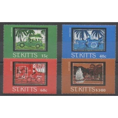 Saint-Christophe - 1985 - No 584/587 - Artisanat ou métiers