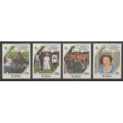 Saint-Christophe - 1986 - Nb 600/603 - Royalty