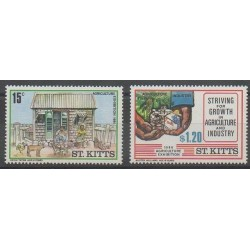 Saint-Christophe - 1986 - No 606/607 - Exposition