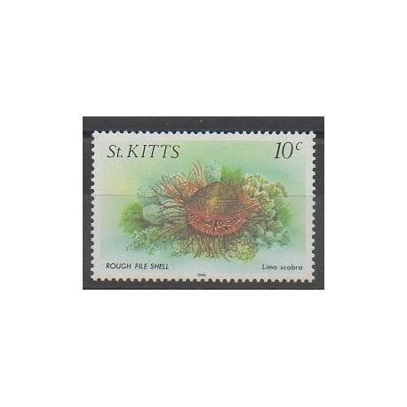 Saint-Christophe - 1986 - No 608 - Vie marine