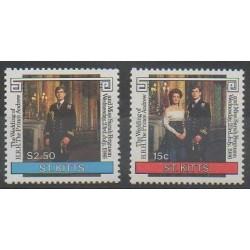 Saint-Christophe - 1986 - Nb 604/605 - Royalty