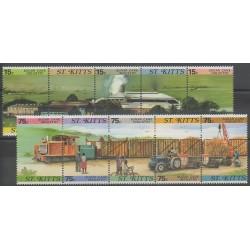 Saint-Christophe - 1987 - No 627/636 - Artisanat ou métiers