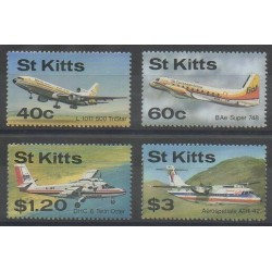 Saint-Christophe - 1987 - No 637/640 - Aviation