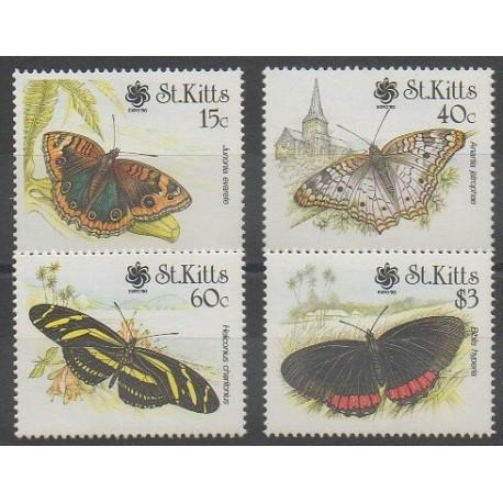 Saint-Christophe - 1990 - No 700/703 - Insectes