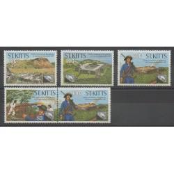 Saint-Christophe - 1990 - Nb 708/712 - Military history