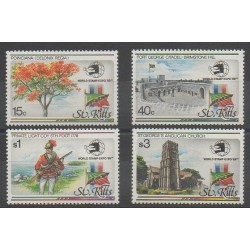 Saint-Christophe - 1989 - No 696/699 - Exposition