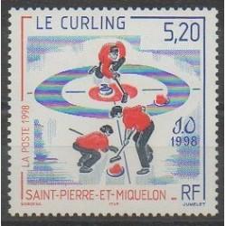 Saint-Pierre et Miquelon - 1998 - No 670 - Jeux olympiques d'hiver