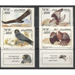 Israel - 1985- Nb 925/928 - Raptors