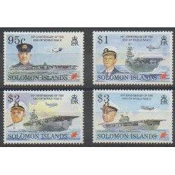 Salomon (Iles) - 1995 - No 840/843 - Seconde Guerre Mondiale