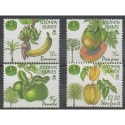 Salomon (Iles) - 1995 - No 844/847 - Fruits ou légumes