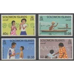 Solomon (Islands) - 1996 - Nb 877/880 - Childhood
