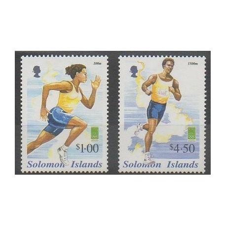 Salomon (Iles) - 2000 - No 957G/957H - Jeux Olympiques d'été