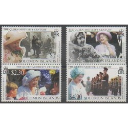 Salomon (Iles) - 1999 - No 938/941 - Royauté - Principauté