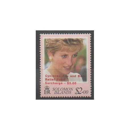 Salomon (Iles) - 2003 - No 1014 - Royauté - Principauté
