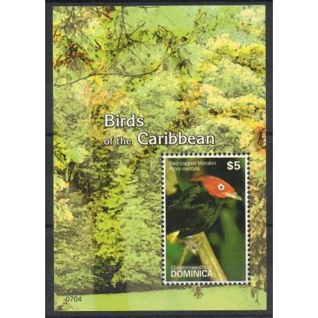 Dominique - 2007- No BF 522 - Oiseaux
