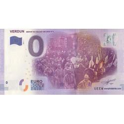 Euro bankenote memory - 55 - Verdun - 2016 - 1