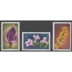 Togo - 1987 - No PA634/PA636 - Fleurs