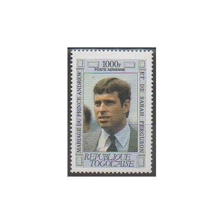 Togo - 1986 - No PA613 - Royauté - Principauté