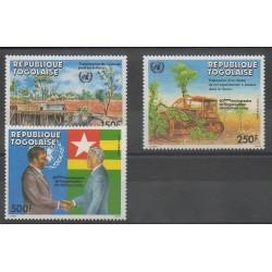 Togo - 1985 - No PA572/PA574 - Nations unies