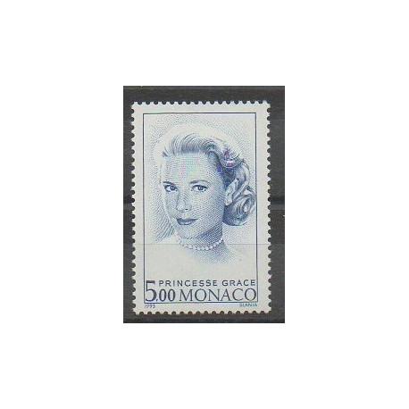 Monaco - 1993 - No 1871 - Royauté - Principauté