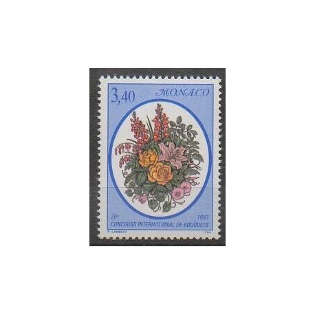 Monaco - 1993 - No 1868 - Fleurs