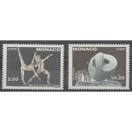 Monaco - 1993 - No 1875/1876 - Art - Europa