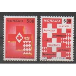 Monaco - 1993 - No 1906/1907 - Santé ou Croix-Rouge