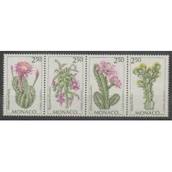 Monaco - 1993 - No 1877/1880 - Fleurs