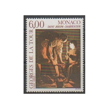Monaco - 1993 - No 1910 - Peinture
