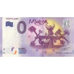 Billet souvenir - Festyland - Miolnyr - 2017