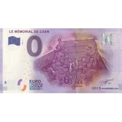 Euro banknote memory - 14 - Le Mémorial de Caen - Bataille de Normandie - 2017