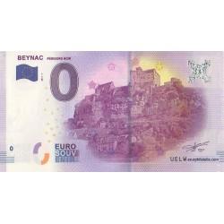 Euro banknote memory - 24 - Beynac - 2017-1