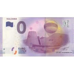 Billet souvenir - Vulcania - 2017
