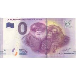 Euro banknote memory - 67 - La Montagne des Singes - 2017-2