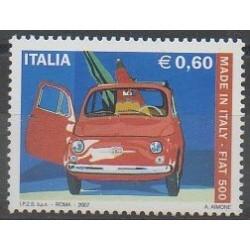 Italie - 2007 - No 2949 - Voitures