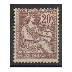 France - Poste - 1902 - Nb 126