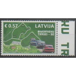 Latvia - 2016 - Nb 961 - Cars