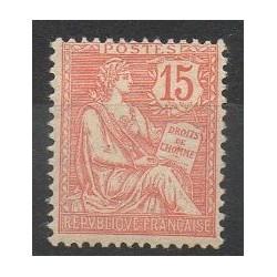 France - Poste - 1902 - Nb 125