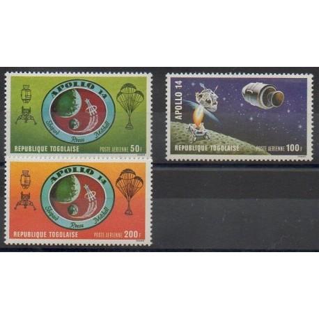 Togo - 1971 - No PA151/PA153 - Espace